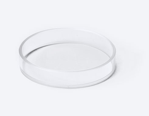 Transparent ring, plexiglass